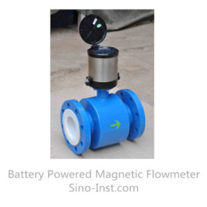 SI-3105 Battery Powered Magnetic Flowmeter