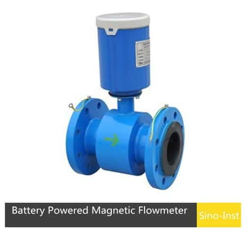 Battery Powered Magnetic Flowmeter