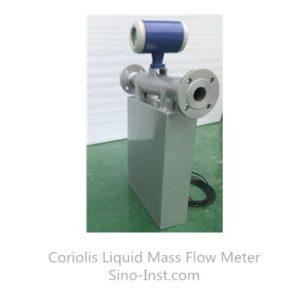 Coriolis Mass Flow meter With Pt100 temperature measurer