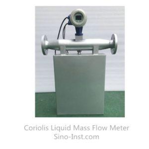 Explosion proof liquid coriolis mass flowmeter