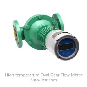 High temperature Oval gear fuel consumption diesel oil flowmeter