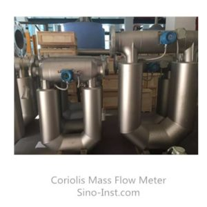 Industrial water oil coriolis mass flow meter detail