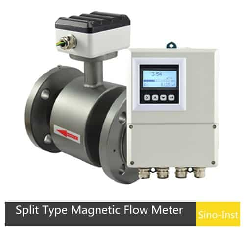 SI-3104 split-type-magnetic-flow-meter