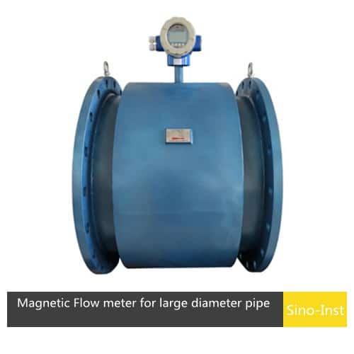 SI-3109 Electromagnetic Flow meter for large diameter pipe