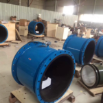 SI-3109 Large Diameter Pipe Electromagnetic Flow Meter for Sewage Wastewater 4