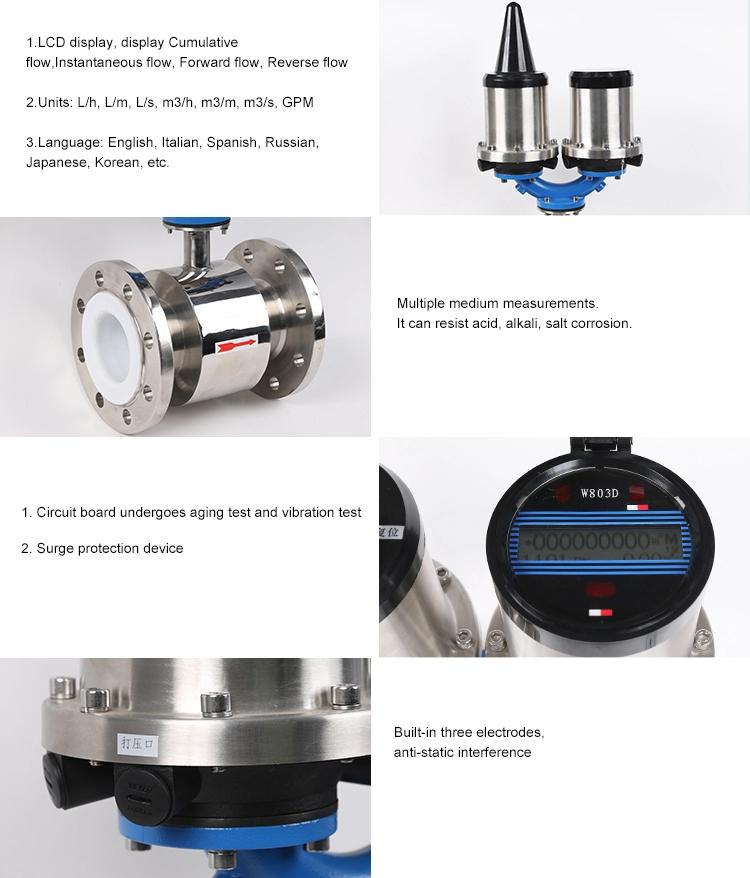 SI-3112 GPRS Electromagnetic Flow Meter details