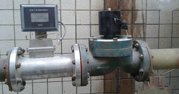 SI-3201 GAS Turbine Flow Meter application