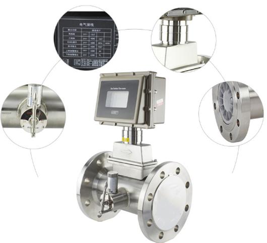 SI-3201 GAS Turbine Flow Meter detail