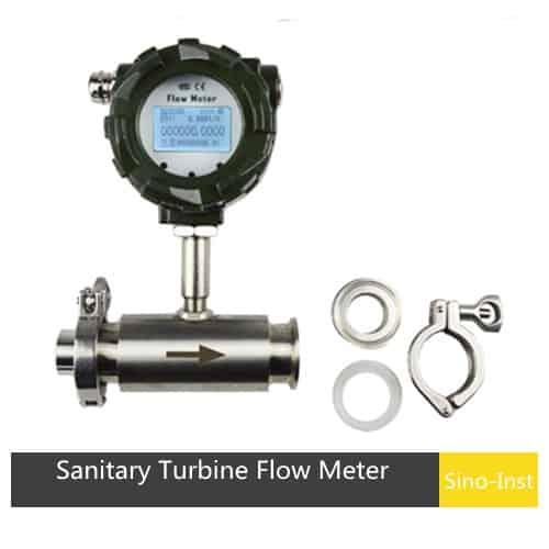 SI-3203 Sanitary Turbine Flow Meter