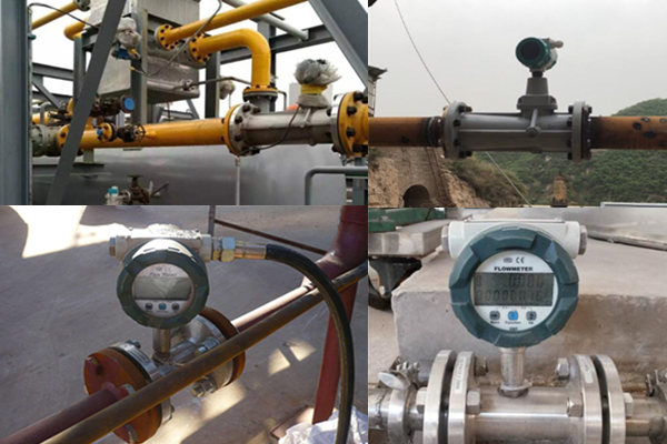 SI-3204 Flange Type Turbine FLow Meter application