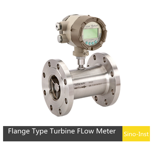 SI-3204 Flange Type Turbine FLow Meter