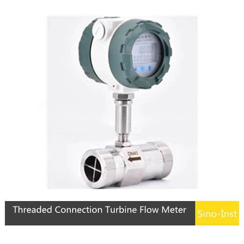 SI-3205 Threaded Connection Turbine Flow Meter