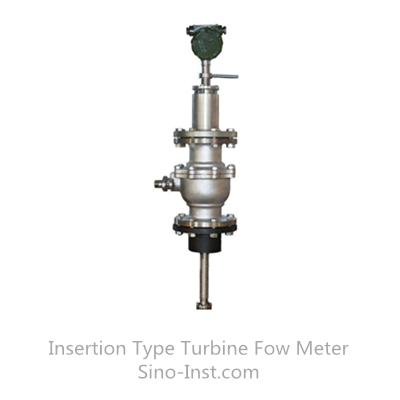 SI-3208 Insertion Type Turbine Fow Meter
