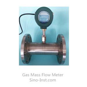 pipe type thermal mass flow meter