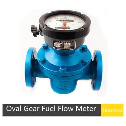 SI-3601 Positive Displacement Oval Gear Fuel Flow Meter