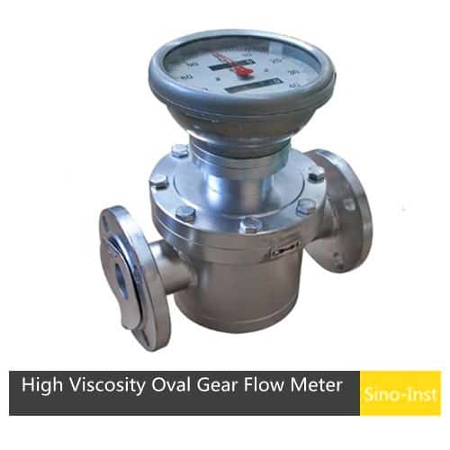 SI-3603 High Viscosity Oval Gear Flow Meter