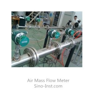 Thermal mass flowmeter accuracy test