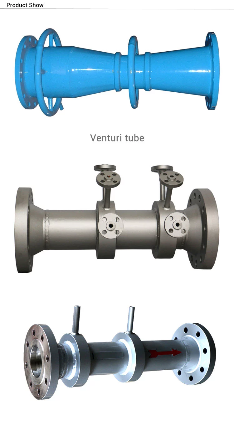 Venturi Tube flow meter types
