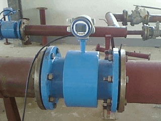 Magnetic Flow Meter application