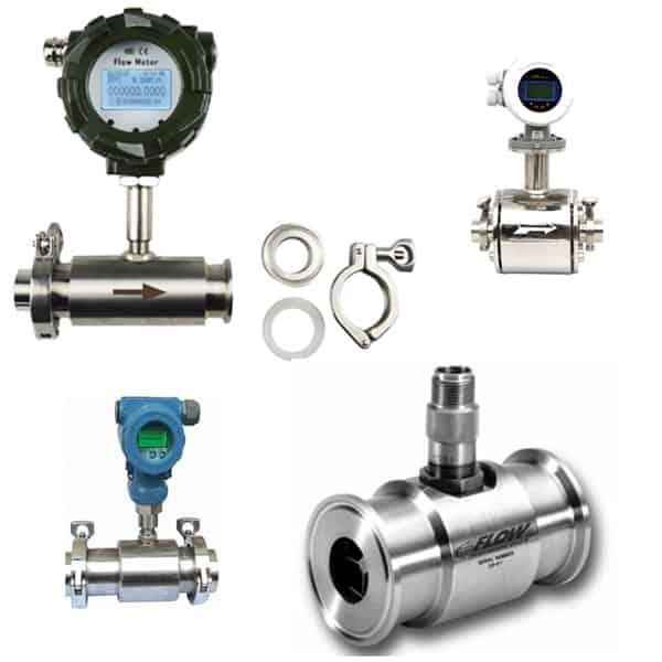 sanitary flow meter