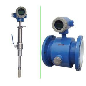 Insertion magnetic flow meter