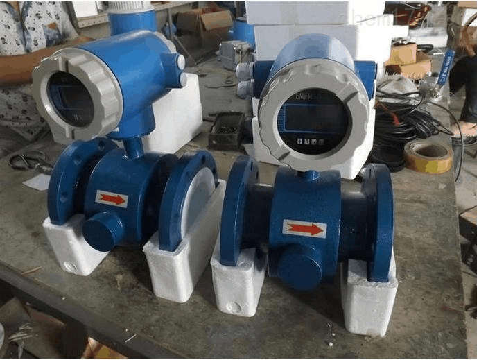 compact magnetic flow meter