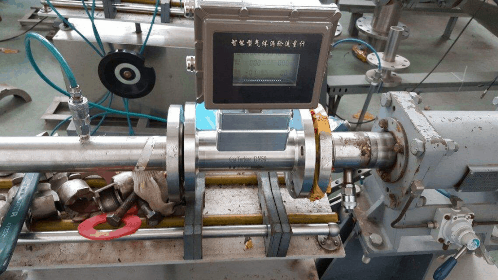 turbine flow meter application