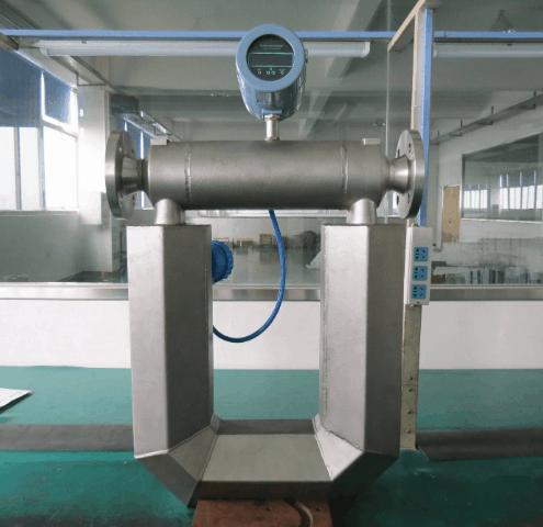 Coriolis Mass Flow Meters installation