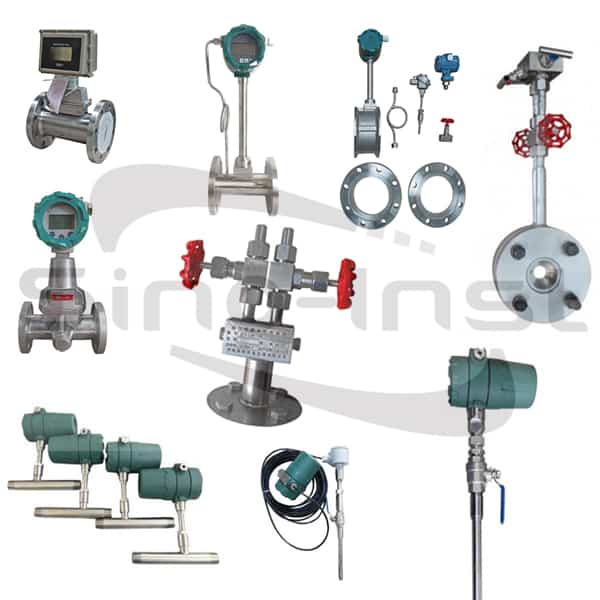 Inline Compressed Air Flow Meters