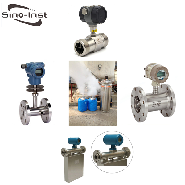 Industrial Liquid Nitrogen Flow Meters