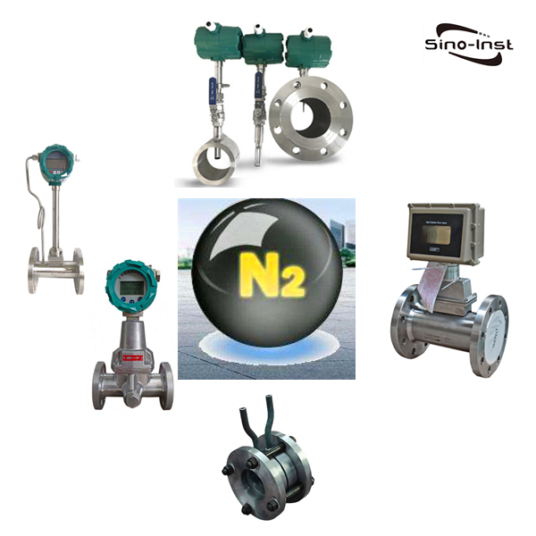 Industrial Nitrogen Gas Flow Meters